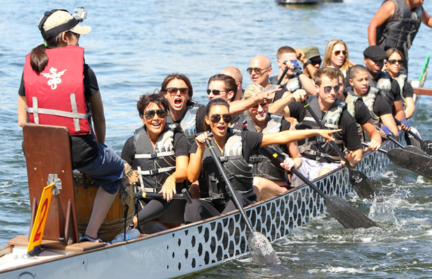 The Great Kardashian Rowing Adventure