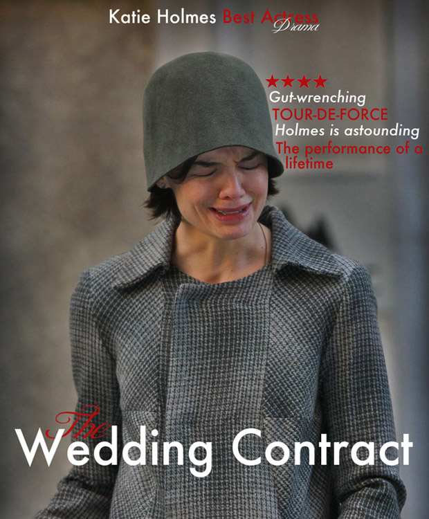 Katie Holmes in The Wedding Contract movie