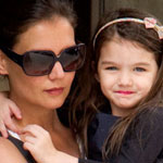 Katie Holmes and Suri Cruise