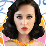Katy Perry on the cover of The Complete Confection