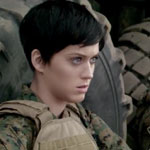 Katy Perry as a Marine