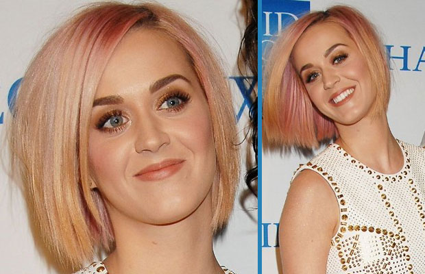 Katy Perry new hairstyle December 2011