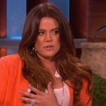 Khloe Kardashian on Ellen