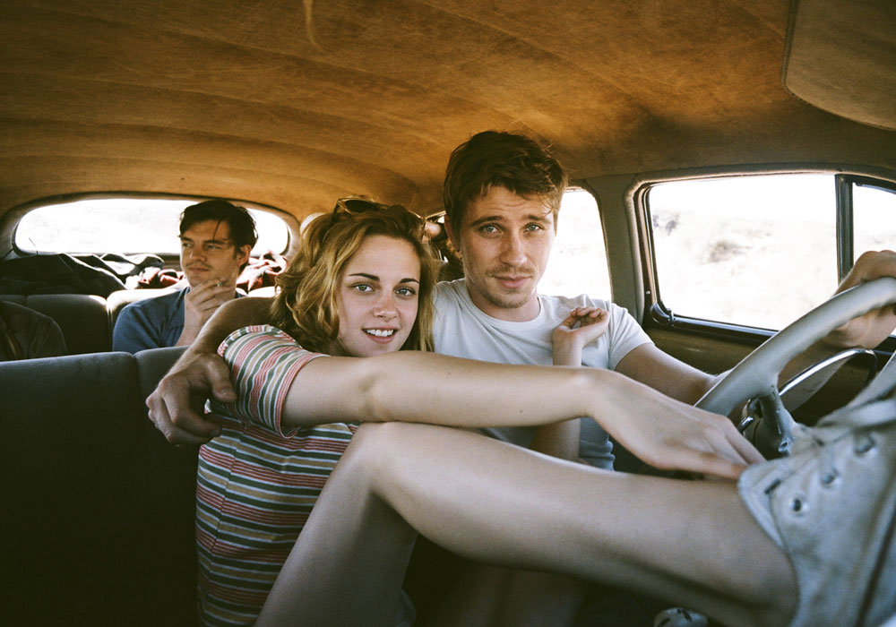 Kristen Stewart and Garret Hedlund in On The Road movie, Walter Salles, 2012