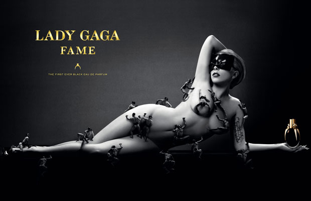 Lady Gaga Poses Nude In Sexy New 'Fame' Perfume Ad