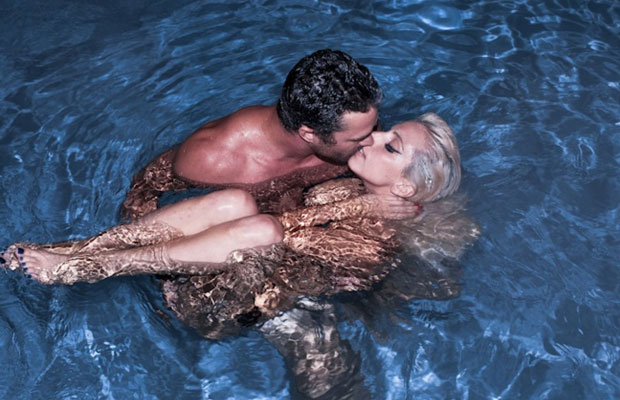 Lady Gaga and Taylor Kinney Skinny Dipping