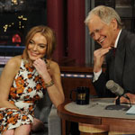 Lindsay Lohan Tells David Letterman Rehab Is A 'Blessing'