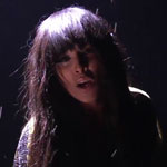 Loreen performing at the 2012 Eurovision song contest