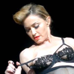 Madonna flashing nipple at Istanbul concert