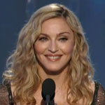 Madonna Golden Globe Awards Category Presenter 2012