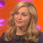 Madonna on The Graham Norton Show in 2012