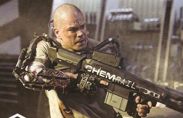 First Look At Matt Damon In Elysium