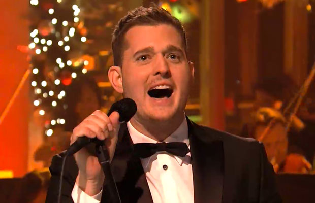 Michael Buble Holly Jolly Christmas.Jimmy Fallon Michael Buble Saturday Night Live Videos