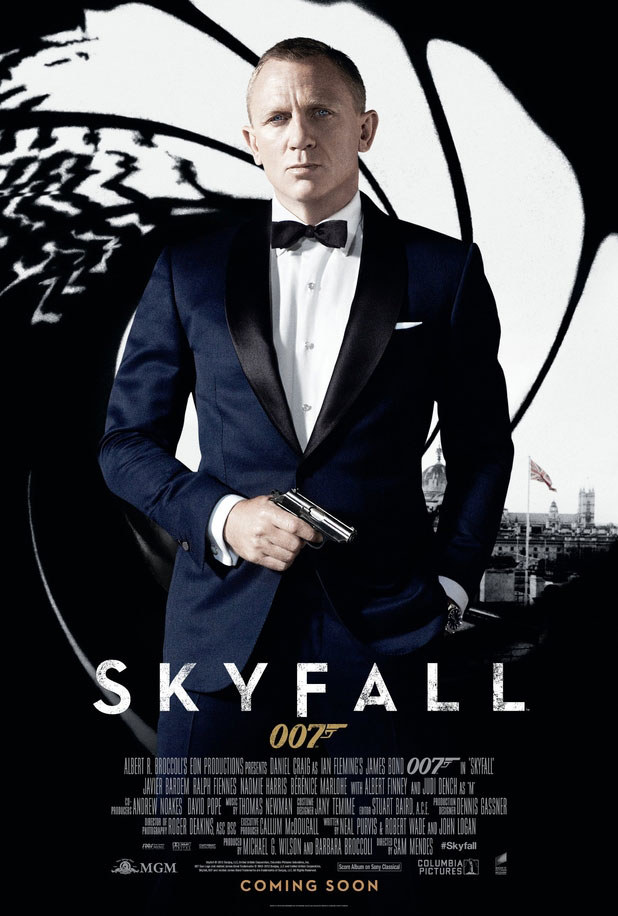New International James Bond Skyfall poster