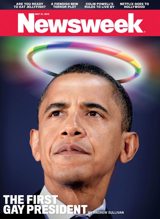Barack Obama gay Newsweek cover