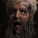 Osama Bin Laden the zombie in Osombie movie