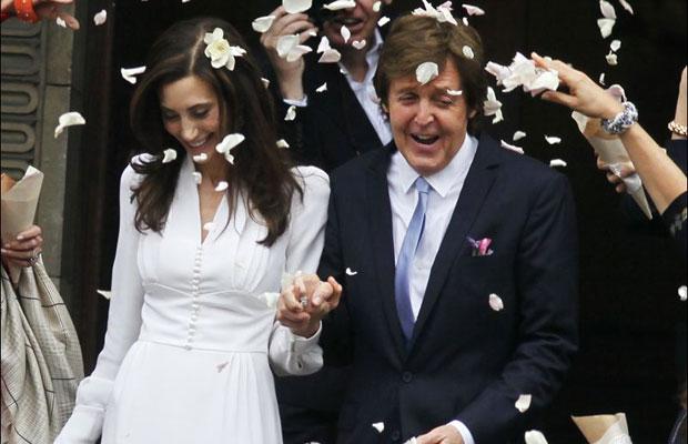 Paul McCartney Nancy Shevell Wedding