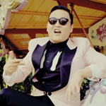 PSY in the Gangnam Style music video