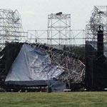 Radiohead stage collapse in Toronto