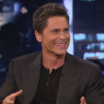 Rob Lowe on Jimmy Kimmel Live