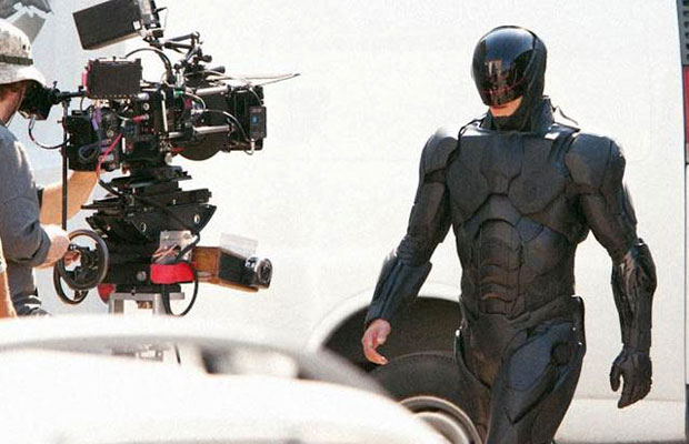 Robocop On Set