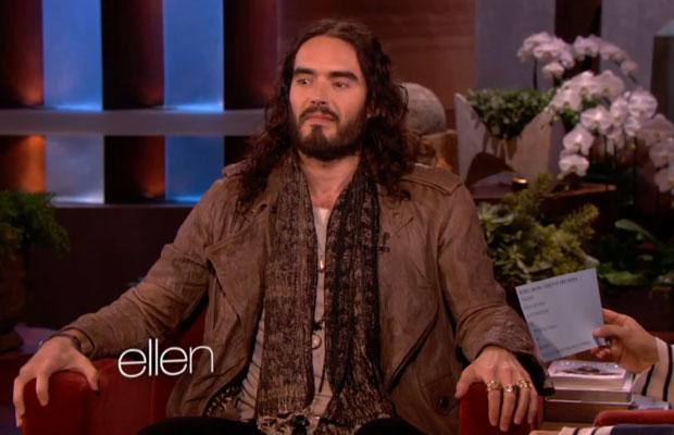 Russell Brand on The Ellen DeGeneres Show November 2012
