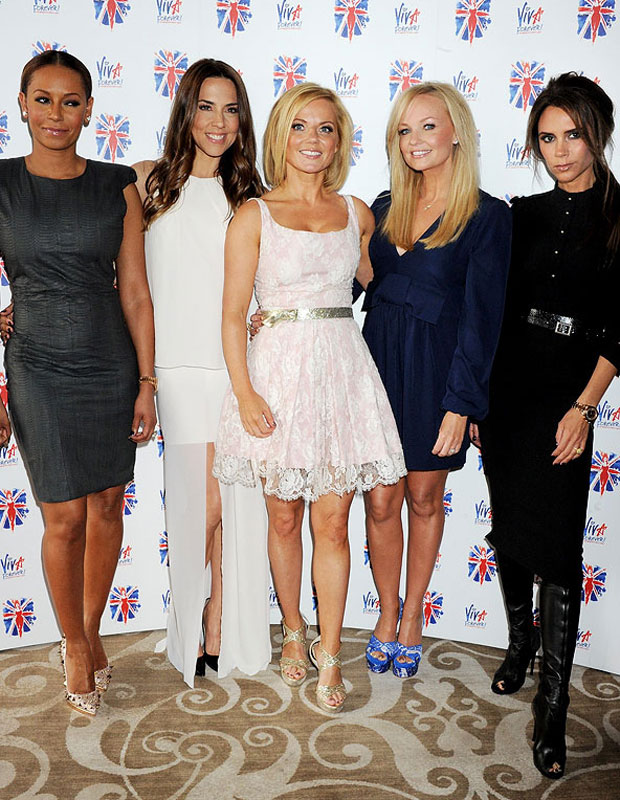 The Spice Girls reunited in June 2012