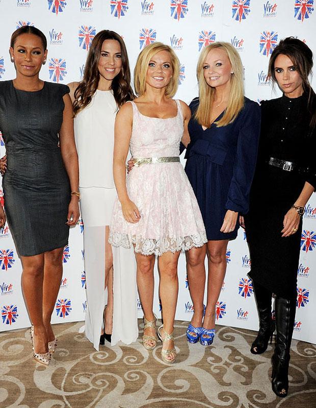 The Spice Girls reunited in June 2012
