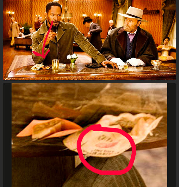 Geeky Tarantino reference in new Django Unchained trailer