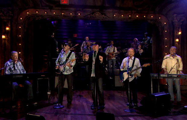 The Beach boys On Jimmy Fallon