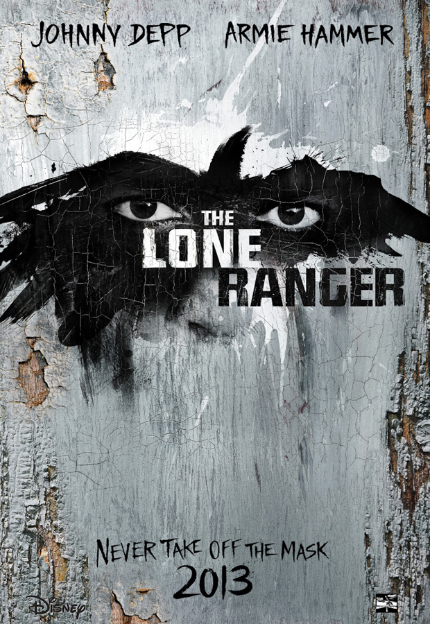 First Poster For The Lone Ranger