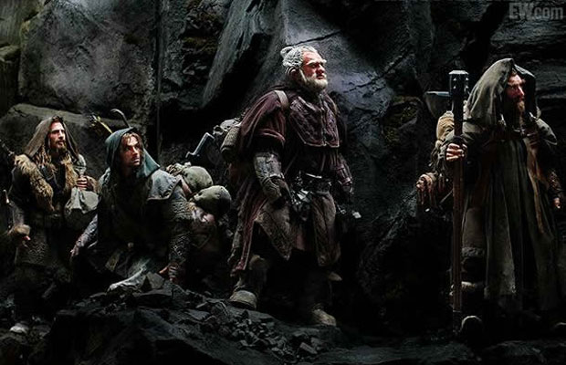 Still image from the upcoming Hobbit movie