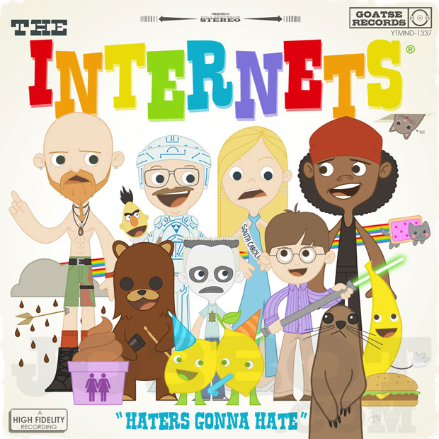 The Internets album front cover