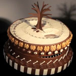 Alexandre Dubosc Tim Burton inspired Zoetrope Caketrope