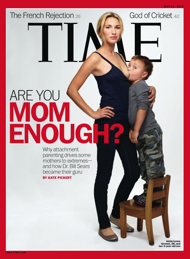 Time Magazine Breastfeeding Issue Cover
