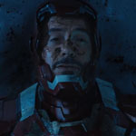 Robert Downey Jr AKA Tony Stark in Iron Man 3 movie 2013