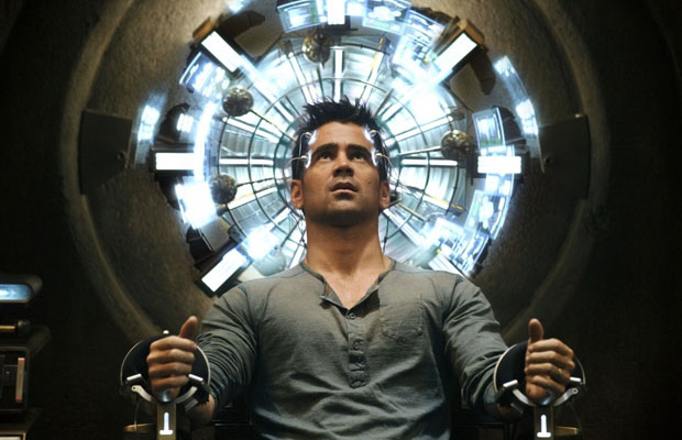Colin Farrell in Total Recall 2012