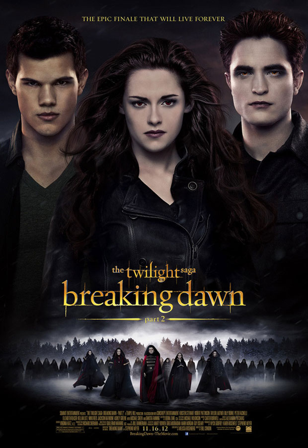 New Twilight: Breaking Dawn - Part 2 Poster