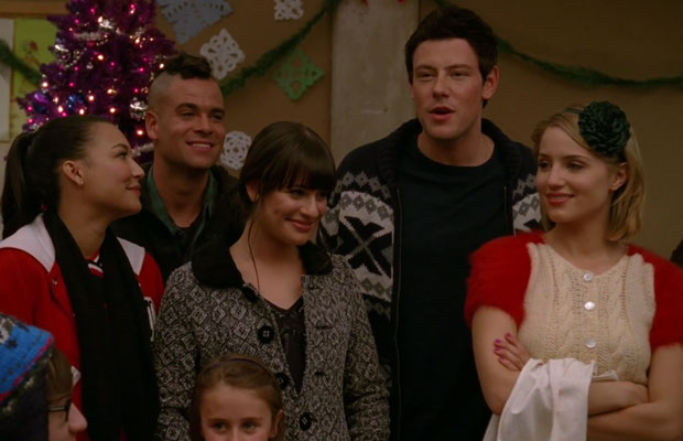 Glee Do They Know It's Christmas Screenshot