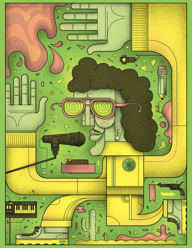 Gallery 1988 Weird Al Art