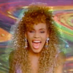 1980&#039;s Whitney Houston