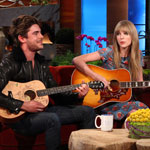 Zac Efron and Taylor Swift on The Ellen DeGeneres Show