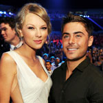 Taylor Swift and Zac Efron at the 2012 Teen Choice Awards